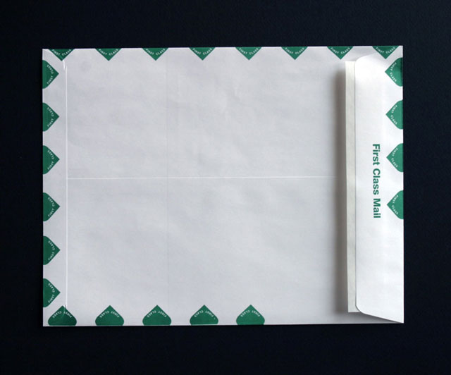 First Class Envelope back